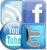 Surflook on Facebook, Twitter, Youtube and other social media