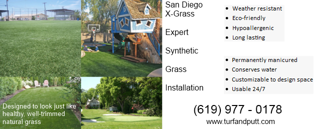 Synthetic grass installation and sales